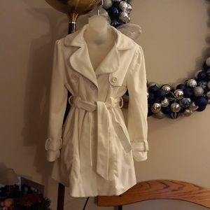 White Dress Coat